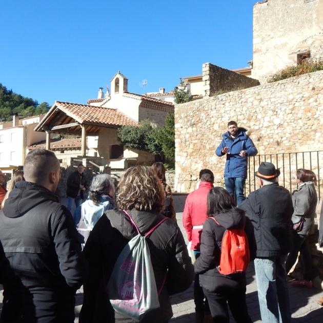 Diputación descubre el patrimonio de Camins de Penyagolosa a centenares de personas