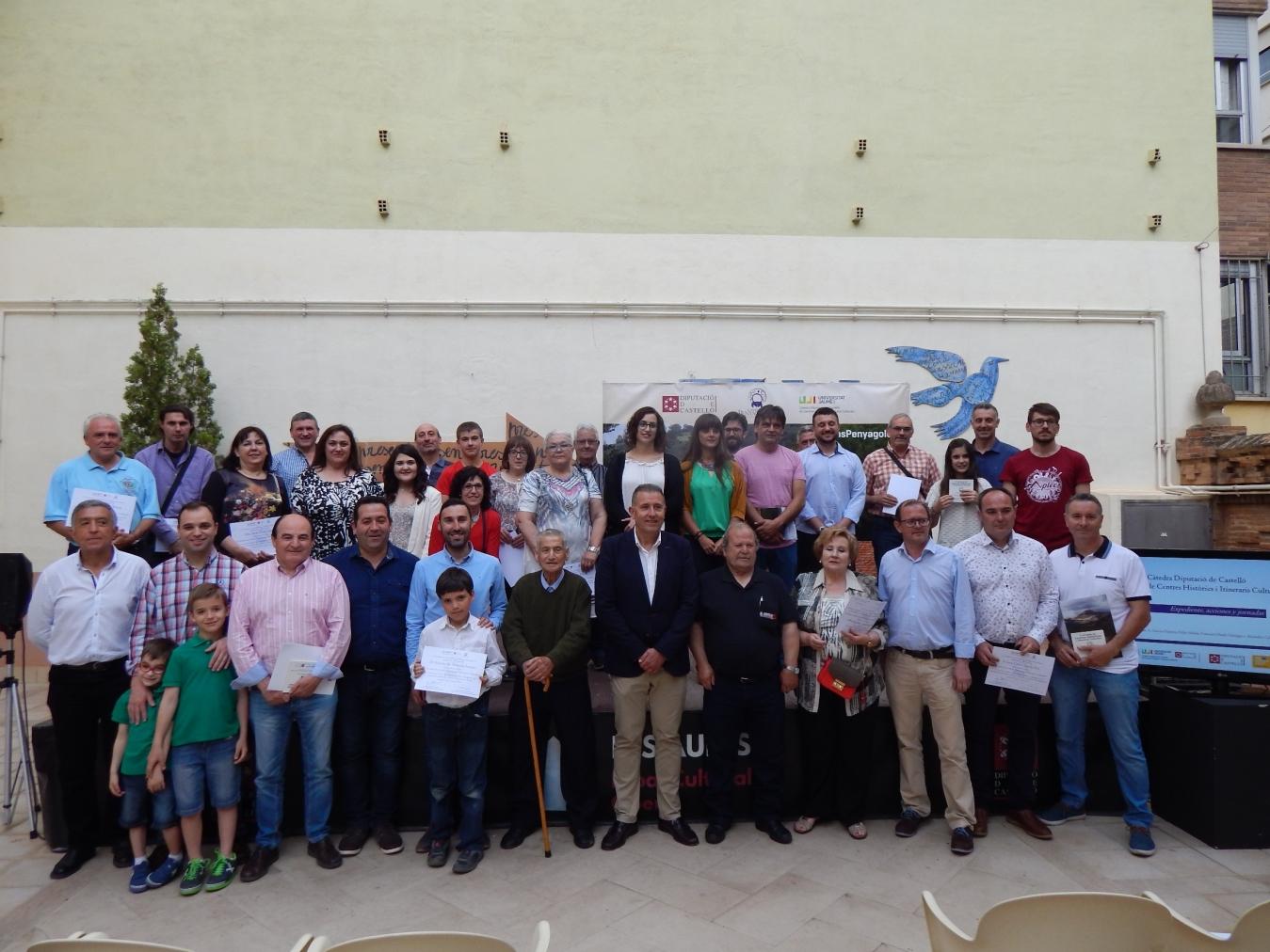 La Diputación ensalza el papel de voluntarios y colaboradores de Camins de Penyagolosa